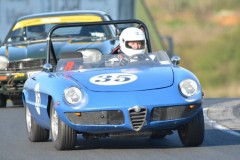 Car 35 Ian West - Alfa Duetto
