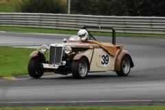 "Car 39 Grant Kern - MG TD ""Cream Cracker"""