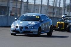 Car 45 John Nuthall - Alfa GT